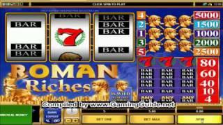 All Slots Casino's Roman Riches Classic Slots