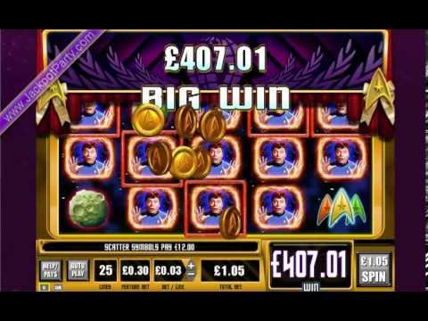 £1008 ON STAR TREK: TREK THROUGH TIME™ MEGA BIG WIN (960 X STAKE) - SLOTS AT JACKPOT PARTY