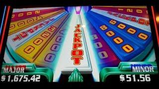Super Wheel Blast Slot Machine Jackpot Wheel Free Spins *BIG WIN* Bonuses - Miss Liberty!