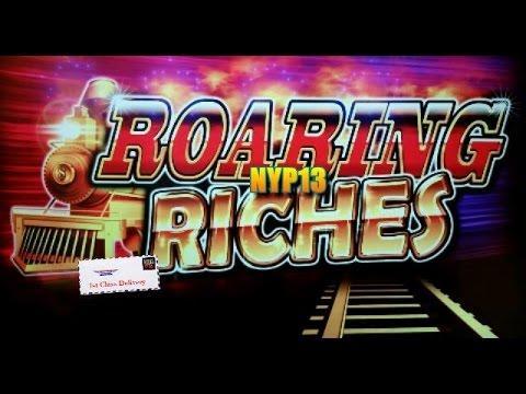 ☆NEW DELIVERY☆ Ainsworth - Roaring Riches Slot Bonus