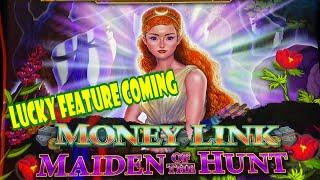 ⋆ Slots ⋆YAY ! LUCKY FEATURE COMING !! ⋆ Slots ⋆MAIDEN OF THE HUNT (MONEY LINK) Slot (SG) $4 Bet ⋆ Slots ⋆$135 Free Play⋆ Slots ⋆栗スロ