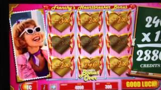 Grease Pink Ladies Frenchy's Heartbreaker Bonus At Max Bet