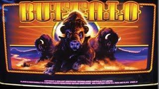 Buffalo Slot Bonus MEGA WIN - Aristocrat