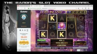 Super Mega Big Win Wildline on Lost Island Online Slot from The Bandit