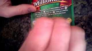 Enter Free Scratch Off Contest, Scratch Off Book of $20 Merry Millionaire Tickets, Part 2