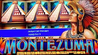 $100 BETS ON MONTEZUMA! ★ Slots ★ JACKPOT HANDPAY ★ Slots ★ LIVE HIGH LIMIT SLOT PLAY!