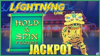 HIGH LIMIT Lightning Link Happy Lantern HANDPAY JACKPOT⋆ Slots ⋆️$50 Bonus Round Slot Machine Casino