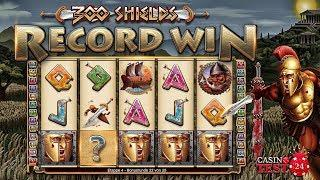 MUST SEE!!! RECORD WIN ON 300 SHIELDS SLOT - ULTRA INSANE HUGE MEGA BIG WIN - 2,50€ BET!