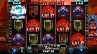 Bounty Hunt slot  - 2,011 win!