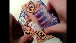 Scratchcard...Match 3 Tripler Cards...with Moaning Pig