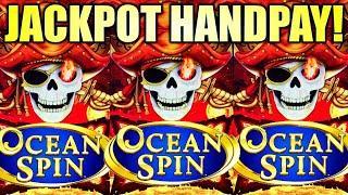 ⋆ Slots ⋆JACKPOT HANDPAY!!⋆ Slots ⋆ OCEAN SPIN ⋆ Slots ⋆️ PIRATE'S RICHES Slot Machine (Konami Gaming)