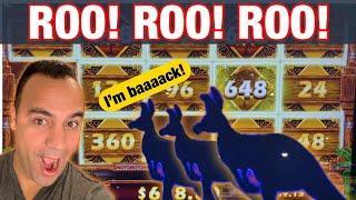 ★ Slots ★MY MOST RETRIGGERS!!   MIGHTY CASH OUTBACK BUCKS BIG WIN BONUS!!!   EEEEE!! ★ Slots ★ ★ Slo
