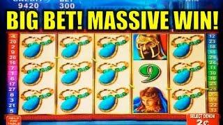 MASSIVE WIN! - Roman Tribune (Konami) - MAX BET 2c