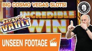 • BIG Cosmo Las Vegas SLOT Action! • Dare We Open the Vault?