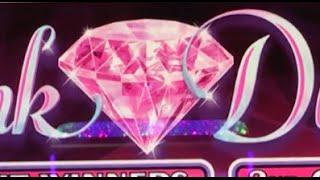 $10 Pink Diamonds **HIGH LIMIT** •LIVE PLAY• Slot Machine at Flamingo, Las Vegas
