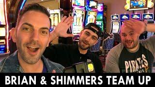 ★ Slots ★ Brian and Slot Shimmers TEAM UP ★ Slots ★ New Dragon Spin and MORE in Las Vegas ★ Slots ★