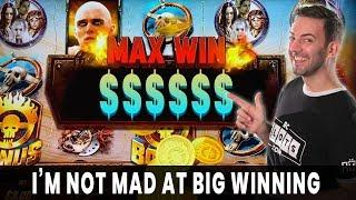 • NOT MAD at BIG WINNING! • MAX WIN on Mad Max Fury Road • 7 Trigger BONUS on ZORRO
