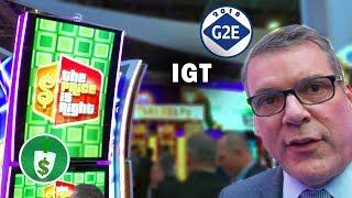 #G2E2018 IGT - Price is Right, Plinko & Sex and the City Ultra slot machines