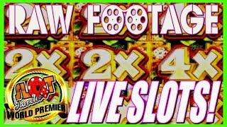 RAW FOOTAGE PREMIER: A DAY AT THE AZ CASINO | Including NEVER Before SEEN SLOT Bonus