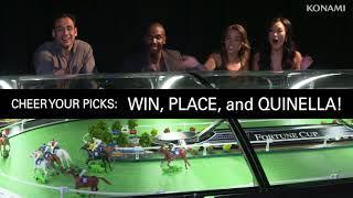 Fortune Cup - Konami Horse Racing at San Manuel Casino •
