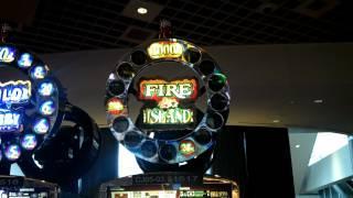 $1,482.00 Jackpot ($3.00 Bet) - Fire Island - Rivers Casino - Pittsburgh, PA
