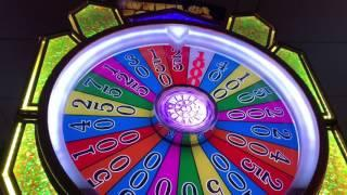 WHEEL OF FORTUNE! GOLD SPIN MAX BET features only $100 budget