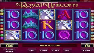 Royal Unicorn video slot - Review amatic fruitmachine