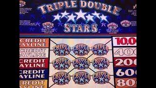 Break Even•Triple Double Stars $1 Slot - 5 Lines @ Pechanga Casino 赤富士, アカフジ, カリフォルニア, カジノ, スロット