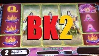Black Knight II Slot Machine Bonus! Free Spins - Sweet Win! ~ WMS (Black Knight 2)