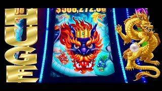 •JACKPOT HANDPAY• 5 DRAGONS GRAND BONUS•HUGE WIN!! ITS AMAZING!! Neighbors Win!! CASINO GAMBLING!!
