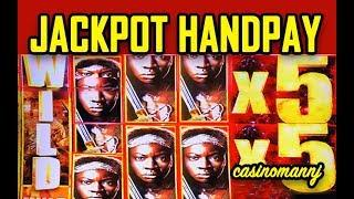 •MAX JACKPOT HANDPAY• - WALKING DEAD 2 • - HUGE WIN! - MY BREAKTHROUGH! ! -  Slot Machine Bonus