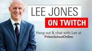 Poker Talk with Lee Jones - Episode 6