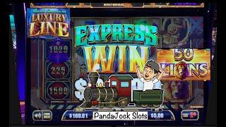 Cash Express, Luxury Line. The train pulled in full of cash⋆ Slots ⋆! 50 Lions ⋆ Slots ⋆