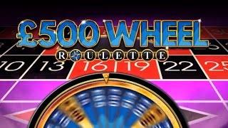 £500 Wheel Roulette with Bonus - Bookies roulette FOBT in William Hill