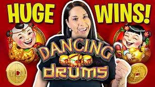 HUGE WINS on Dancing Drums & Dancing Drums Explosions // Plus a special guest