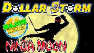 MAJOR JACKPOT•️DOLLAR STORM NINJA MOON •️HIGH LIMIT ON NEW STYLE OF LIGHTNING LINK SLOT MACHINE•️