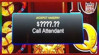 ** JACKPOT HANDPAY ** MY BEST DANCING DRUMS WIN EVER ** MUST WATCH  ** SLOT LOVER **