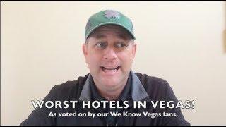 WORST Hotels in Las Vegas! Top 5 Worst & Cheapest Hotels in Las Vegas