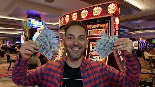• LIVE $500+$500 Slots • Agua Caliente Casino in Rancho Mirage