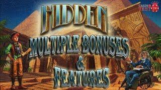 Multiple Bonus Rounds & Features on Hidden - Elk Studios Slot - 2€/4€ BETS!