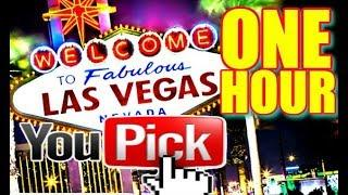 • YOU PICK THE GAMES, I PLAY! •  ONE HOUR OF LIVE SLOT MACHINES FROM LAS VEGAS  • Slot Traveler