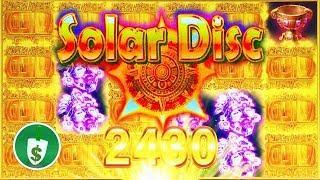 Solar Disc slot machine, 2nd session