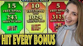 HIT EVERY BONUS & LUCK Has ARRIVED in Las Vegas!