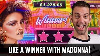 •️ •• • MADONNA!!! Like A...Winner? • Bonus for the Very First Time?