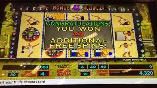 HUGE WIN!! Again on Pharoah's Fortune  #78