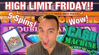 $10 Wheel of Fortune, 5 spins in 1 session!!! | $100 Wheel | CASH MACHINE | $10 - $100 BETS •