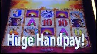 HUGE BUFFALO GOLD JACKPOT HANDPAY!!  Then two other big wins!!