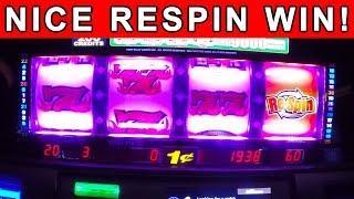 WON MONEY @ Triple Bonus Frenzy Slot Machine! Live Play w/ RESPIN WIN!