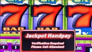 TRIPLE 7s HIGH LIMIT HANDPAY ★ Slots ★ LUCKY LOCK ★ Slots ★ MASSIVE BETTING SKILLS