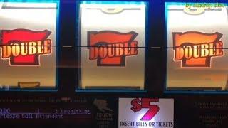 Jackpot after Big Win•Any7s Double Gold - High Limit Slot@ Pechanga Resort & Casino -  赤富士スロット, カジノ
